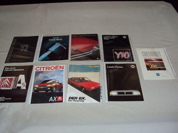 Catálogos Auto - Volvo; Lancia; Peugeot; Citroen; Opel; Chevrolet