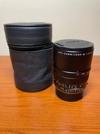 Leica 75mm f/2.0 APO-Summicron-M ASPH