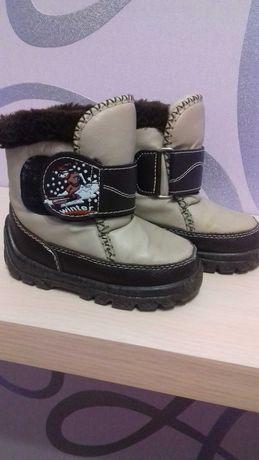 Сапоги зимові ботинки зимние для мальчика