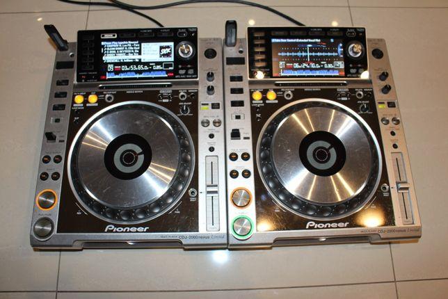 Pioneer CDJ 2000 nexus CDJ2000 nexus z (rekordbox) 2 sztuki