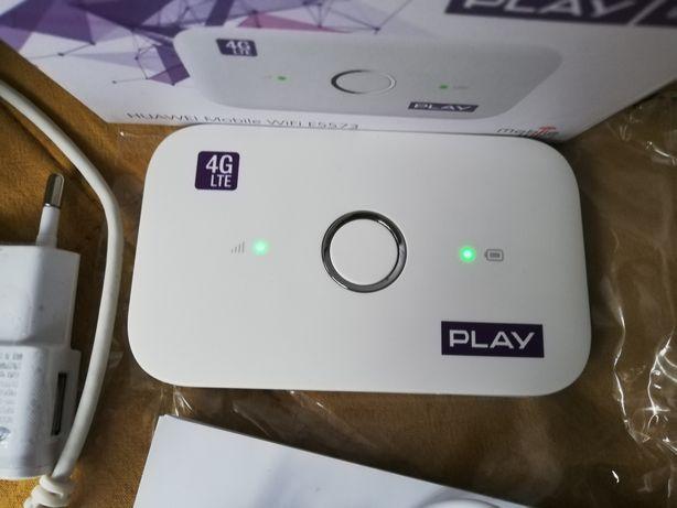 Router Modem wifi Huawei E5573 Play LTE 4G na kartę sim bez simlocka.