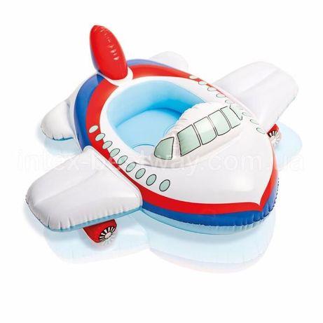 Надувной круг-Самолет фирмы INTEX