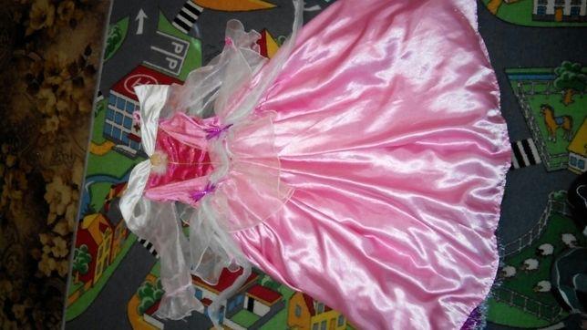 Карнавальное платье спящая красавица!