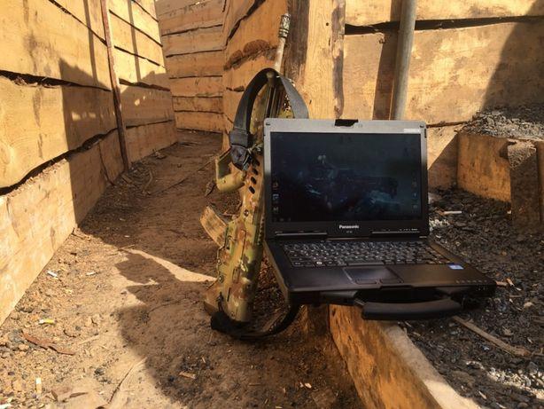 Армейский, защищенный ноутбук Panasonic Toughbook CF-53 - 8Gb RAM, SSD