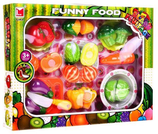 Zestaw Do Krojenia Owoce Warzywa Deska