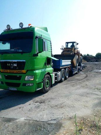 Transport niskopodwoziowy (maszyny budowlane, maszyny rolnicze)
