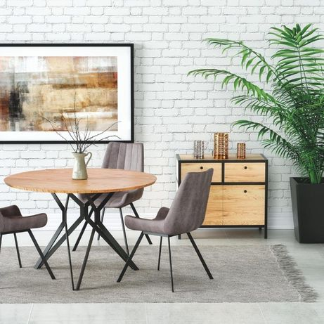 PIXEL – stół industrialny stół okrągły stół w stylu loft DOWÓZ GRATIS