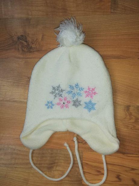 Ciepła czapka dla dziewczynki