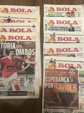 9 Jornais A Bola - Abril 2010