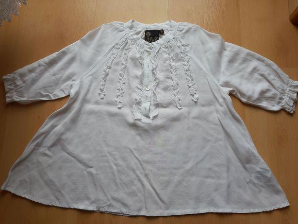 Bluzka elegancka biała r. 116