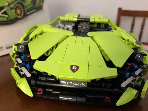 Klocki Technik budowa samochodu lego/Dla dzieci i dorosłych 1255el