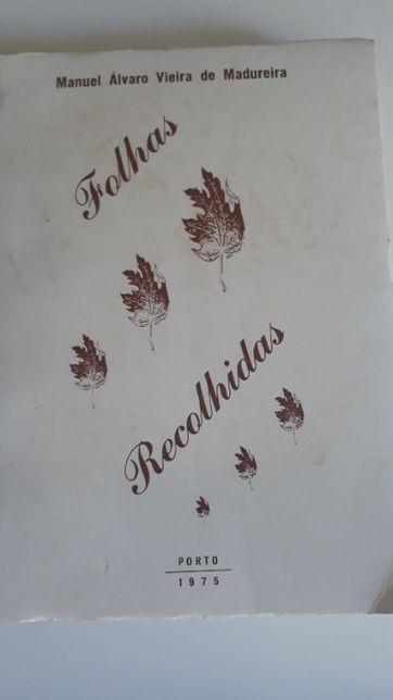 Folhas Recolhidas, de Manuel Álvaro Madureira