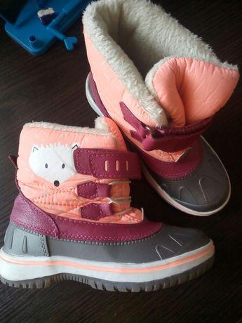 Сапоги, ботинки на слякоть для девочки