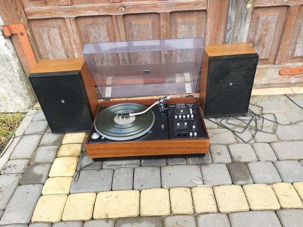 Gramofon Fonomaster Unitra z głośnikami unitra
