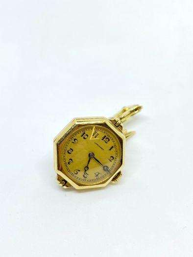 Złoty zegarek 14k Longines