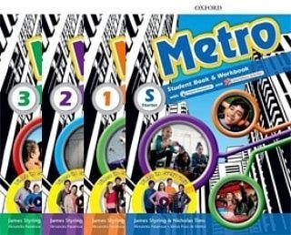 Друк книг Metro (starter, 1,2,3) +audio, video, teacher's book