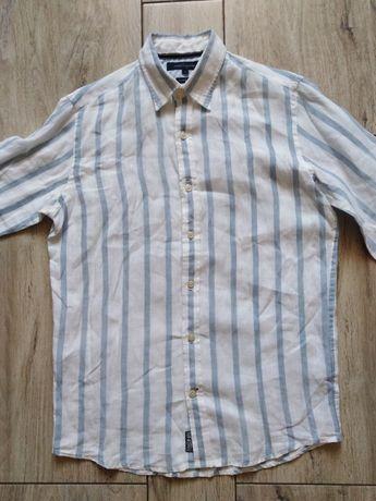 Tommy Hilfiger Premium Linen koszula męska