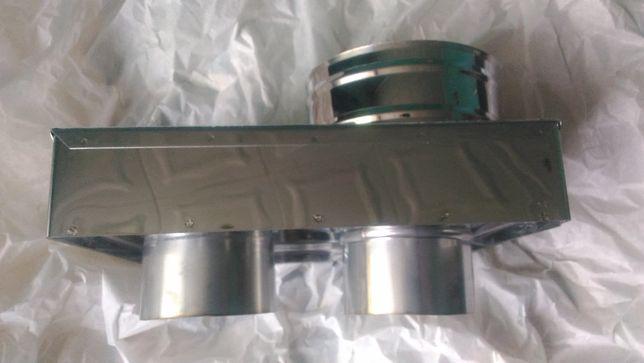 Адаптер димохід котла Vaillant Solide T6 80/120 з нержавіючої сталі