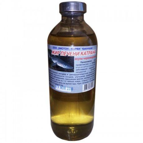 Купити Акули жир (жир печінки катрана). 250 мл тільки за 90 гривень