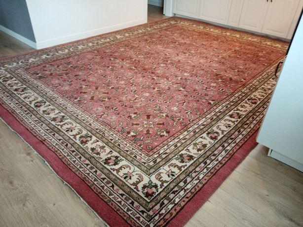 Przepiękny orientalny wełniany ręcznie tkany dywan 270x370cm