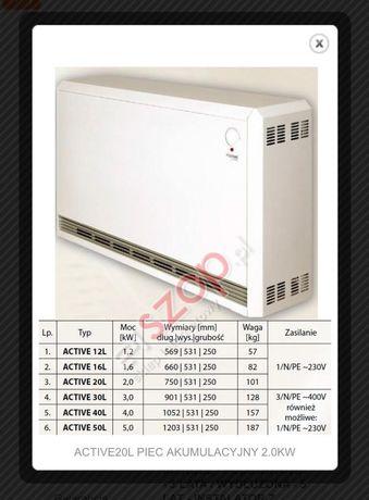 Piec akumulacyjny inproel aura 3szt.