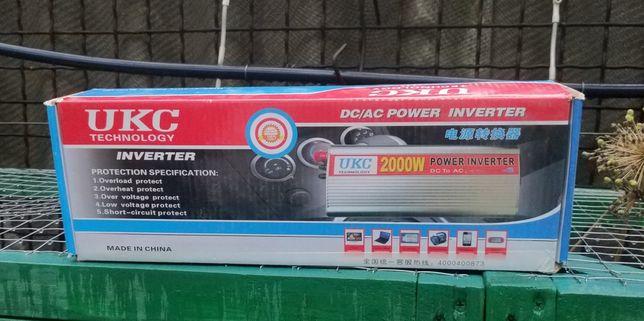 Инвертор UKC 2000 W преобразователь