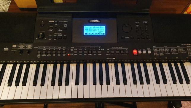Keyboard Yamaha PSR E463 23 m. gwarancji stan idealny