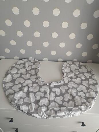 BABYMAM nowa poszewka na poduszkę rogal do karmienia XL