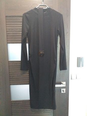 Ciążowa sukienka S czarna h&m