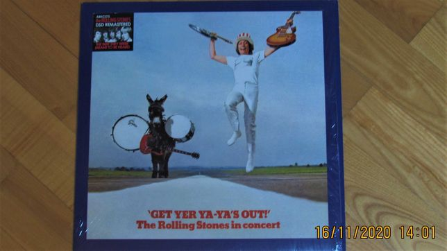 The Rolling Stones - 'Get Yer Ya-Ya's Out!' In Concert; DSD,SBM LP; NM