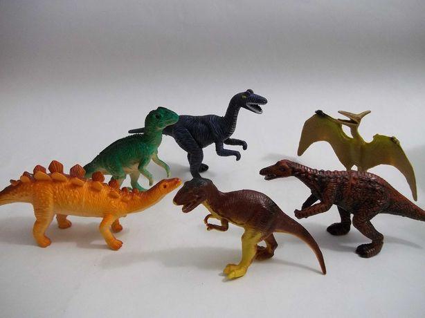 Динозавры Набор 6 шт. дино Тиранозаурус Рекс , Teranosaurus Rex