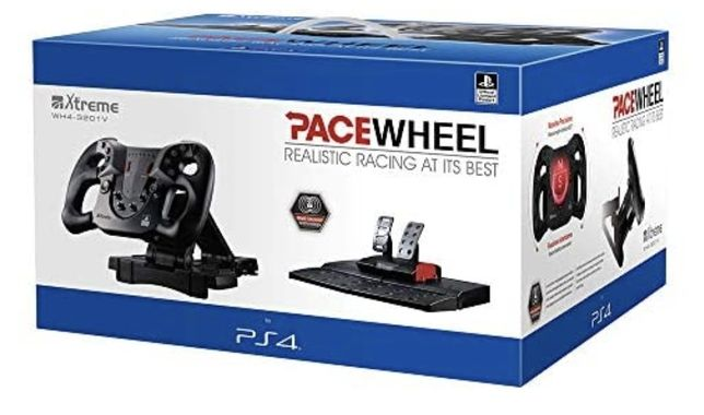 Kierowca pedały Ps4 Pace Wheel PS4 4-Axis F1 Official