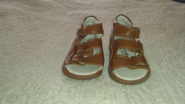 Ортопедические сандали на мальчика 1 - 1,5 года