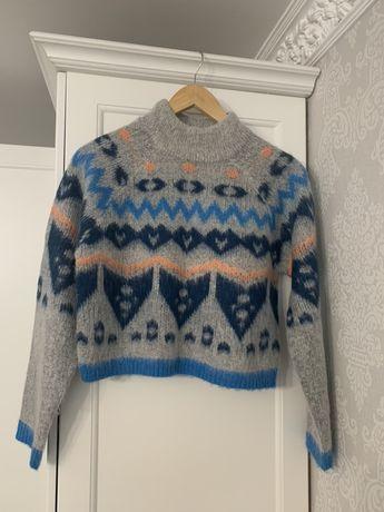Укороченный свитер кофта Noisy May / h&m / new look