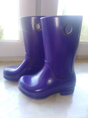 Сапоги Crocs C9 фиолетовые
