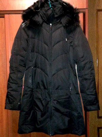 Пальто пуховик женский