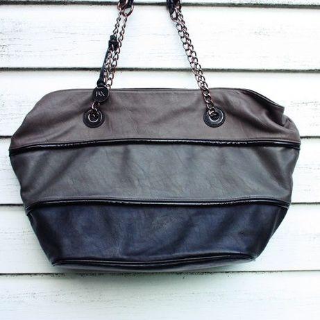 Skórzana torba Bata Flexible