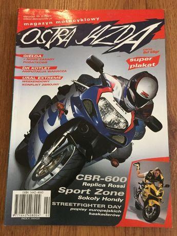 Czasopismo Ostra jazda rocznik 2001/2