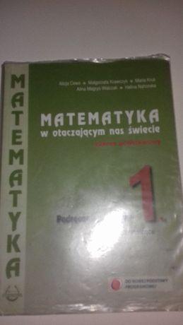 Matematyka w otaczającym nas świecie. A.Cewe, M. Krawczyk, M. Kruk,