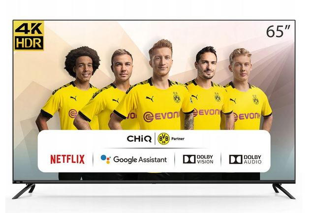 "Telewizor LED CHiQ U65H7S 65 "" 4K UHD czarny"