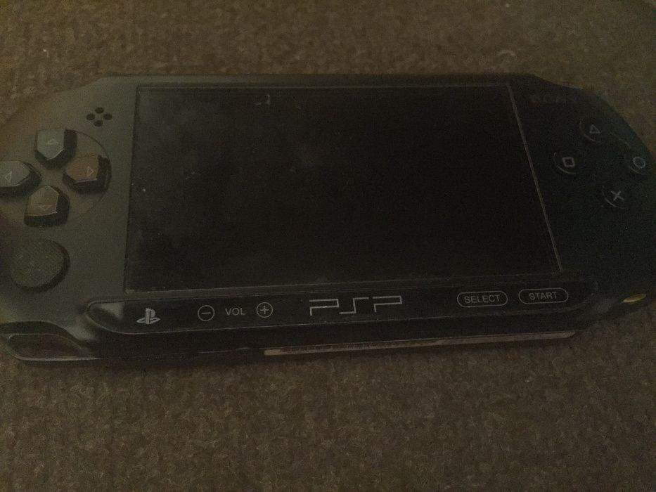 Konsola Sony PSP Street E-1004 czarna Ostrów Wielkopolski - image 1