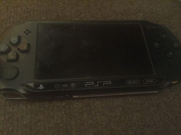 Konsola Sony PSP Street E-1004 czarna