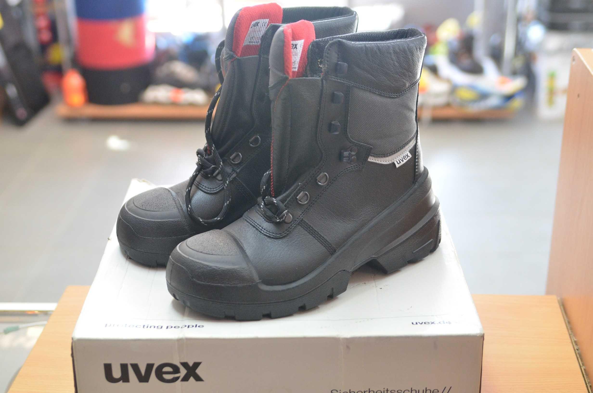 Ocieplane nowe trzewiki ochronne buty robocze UVEX 8402.2