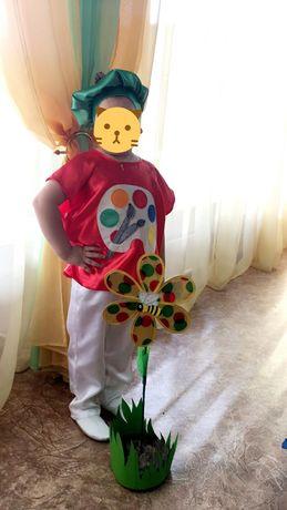 Новогодний костюм художника