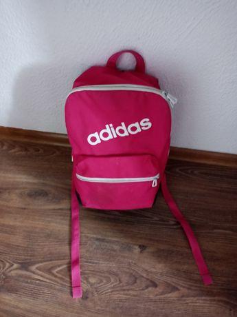 Różowy Plecak Z Adidasa