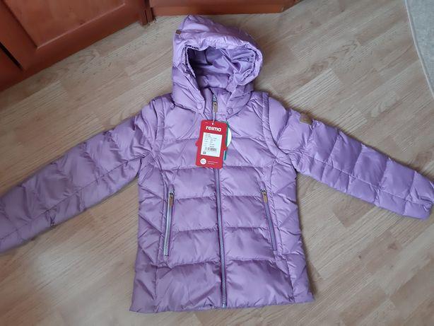 Пуховая зимняя куртка жилетка Reima Minna 531346 2 в 1 140р