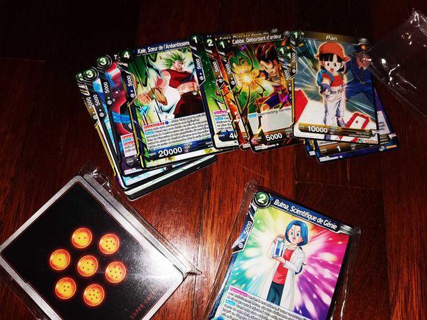 100 cartas Dragonball todas diferentes (novas)