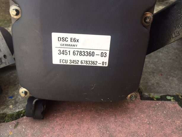 Продам блоки бмв дсц абс е60-61 04-08 год х5 е53 06 год