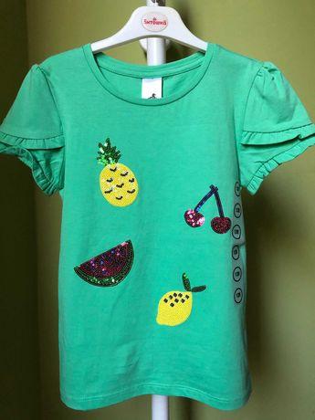 C&A футболка для дівчинки нова