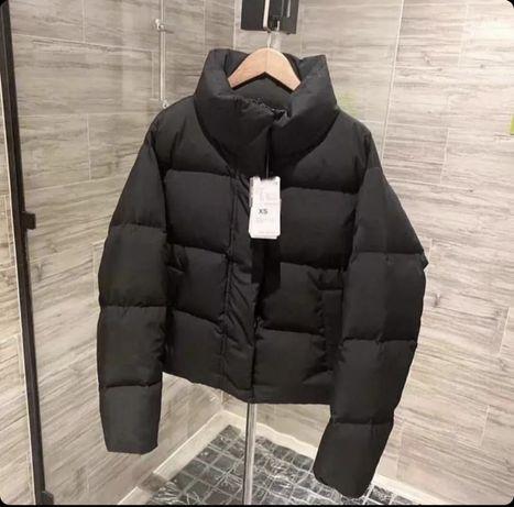 Куртка чёрная зима зимняя демисезон еврозима nike puma adidas